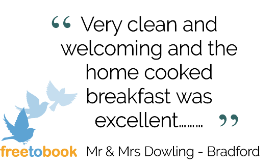 Tennyson Bridlington Testimonials Freetobook review by Mr and Mrs Dowling