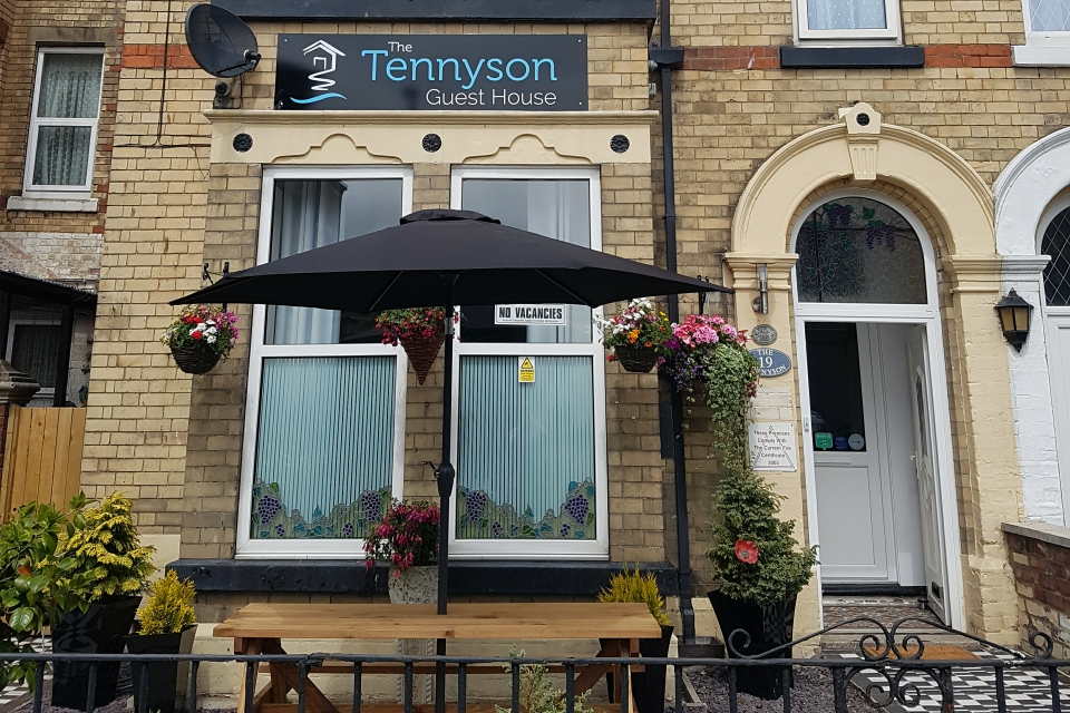 Tennyson Bridlington Front of House Seating Area